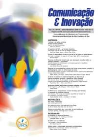 Visualizar v. 10 n. 19 (2009): Comunicação & Inovação